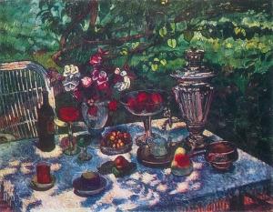 凌乱的桌子_Untidy Table-伊利亚·马什科夫