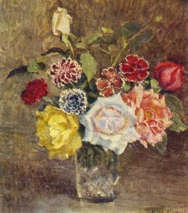 玫瑰和康乃馨_Roses and carnations-伊利亚·马什科夫