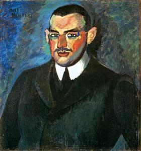 男人画像_Portrait of a Man-伊利亚·马什科夫