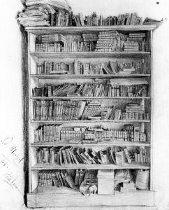 Puhlmann博士的书柜_Dr Puhlmann's Bookcase-阿道夫·门采尔