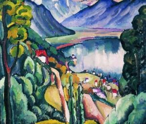 日内瓦湖畔_Geneva Lake-伊利亚·马什科夫