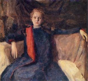 少女画像_Portrait of a Girl-伊利亚·马什科夫