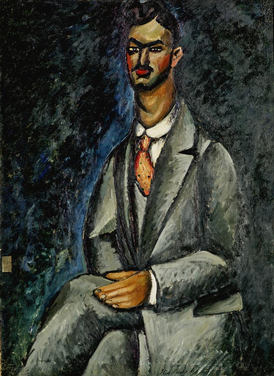 诗人肖像_Portrait of a Poet-伊利亚·马什科夫