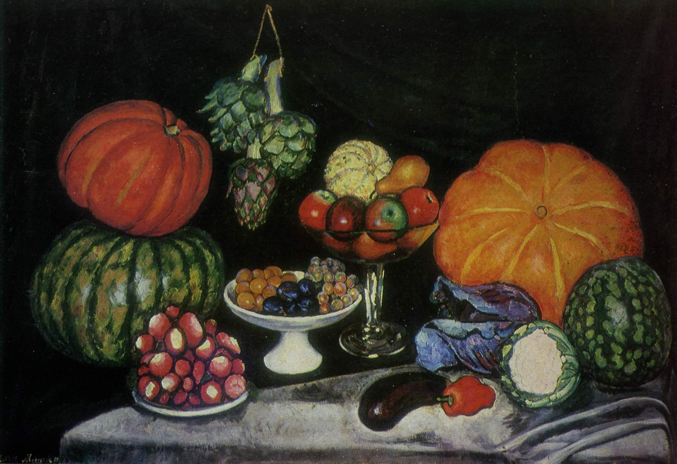 蔬菜_Vegetables-伊利亚·马什科夫