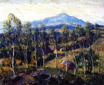新英格兰桦树_New England Birches-欧内斯特·劳森