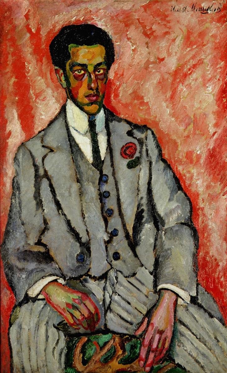 一个无名男子的肖像_Portrait of an Unknown Man-伊利亚·马什科夫