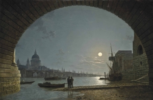 从黑修士的角度看泰晤士河和圣保罗大教堂_A view of the Thames with Saint Paul's Cathedral from Blackfriars-亨利·佩特