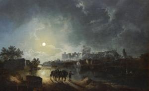 温莎城堡在河边_Windsor Castle from the river-亨利·佩特