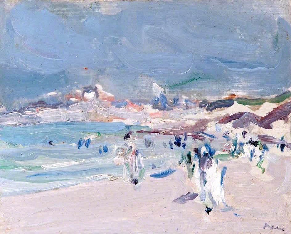 在布列塔尼海岸_On the Brittany Coast-塞缪尔·约翰·佩普洛